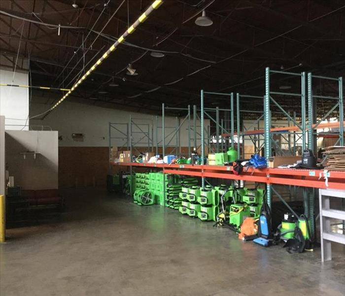 The SERVPRO of Southwest Dallas New Warehouse