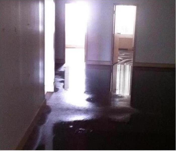 Dallas Oak Cliff Flooded House before restoration