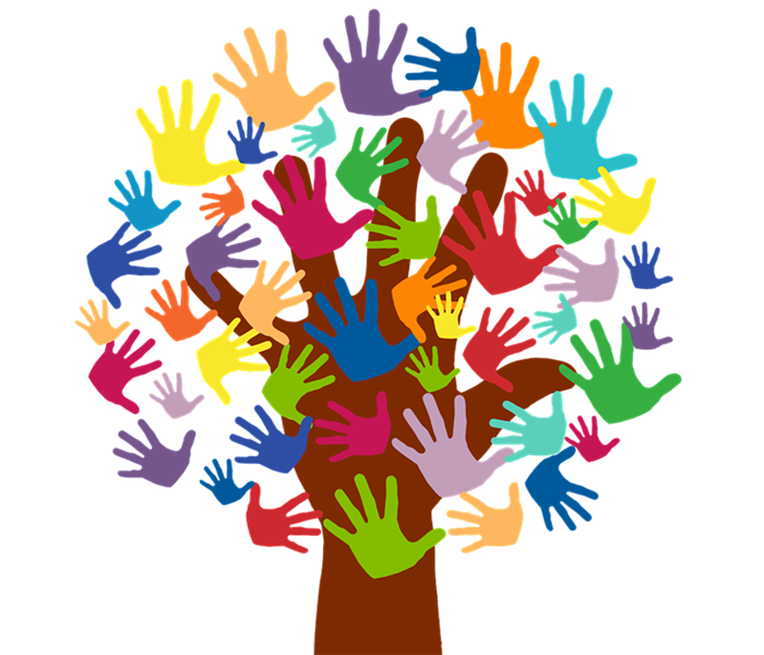 Volunteer Hands Tree