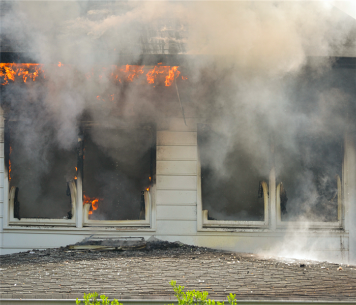 Fire Damage SERVPRO Eliminates All Issues Involving Fire Damage and Your Dallas Home
